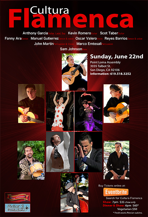 Cultura Flamenca: An Evening of Spanish Guitar, Dance, and Cante